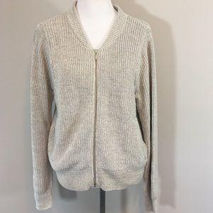 Victoria's Secret Women's Sweater XL Zip Cardigan